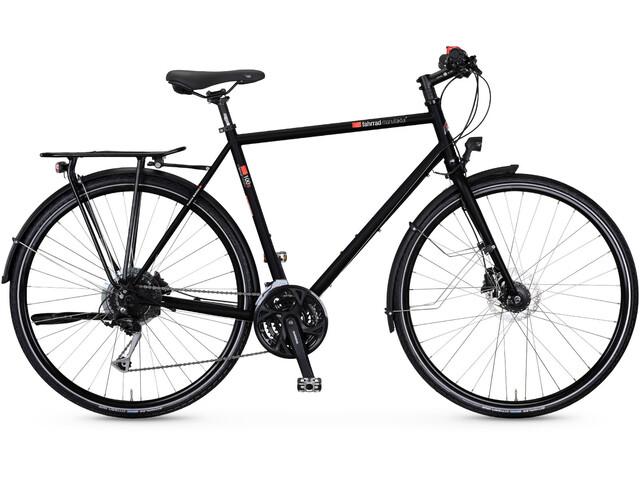 vsf fahrradmanufaktur T-100S Trapezoidal Alivio 27-Vel Disco, ebony matt